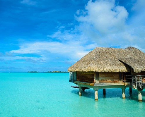 Over Water Bungalow for your honeymoon in the Maldives